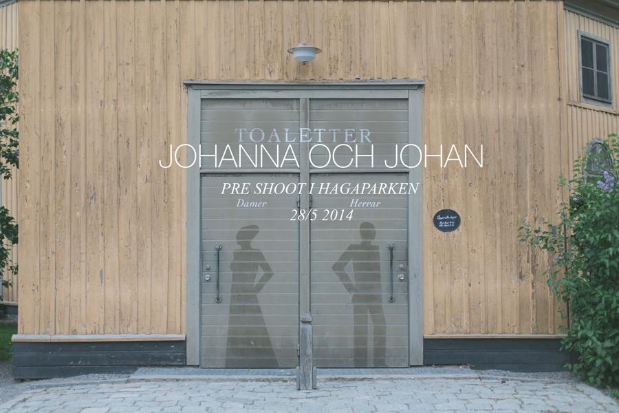 Johanna och Johan pre shoot i Hagaparken - 01