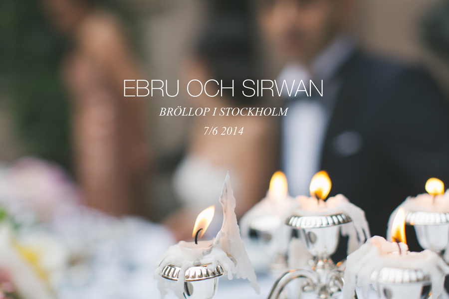 Ebru och Sirwan Bröllopsbilder från Hallwylska Palatset 01
