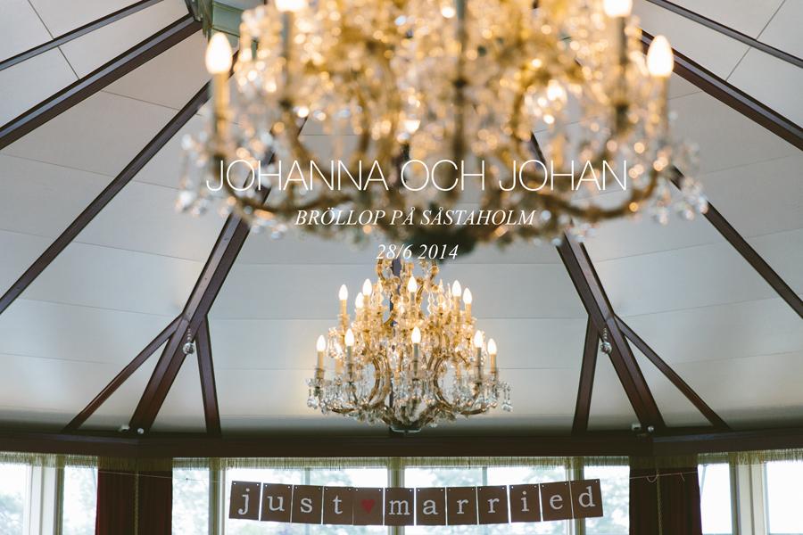 Johanna och Johans bröllop på Såstaholm - 01