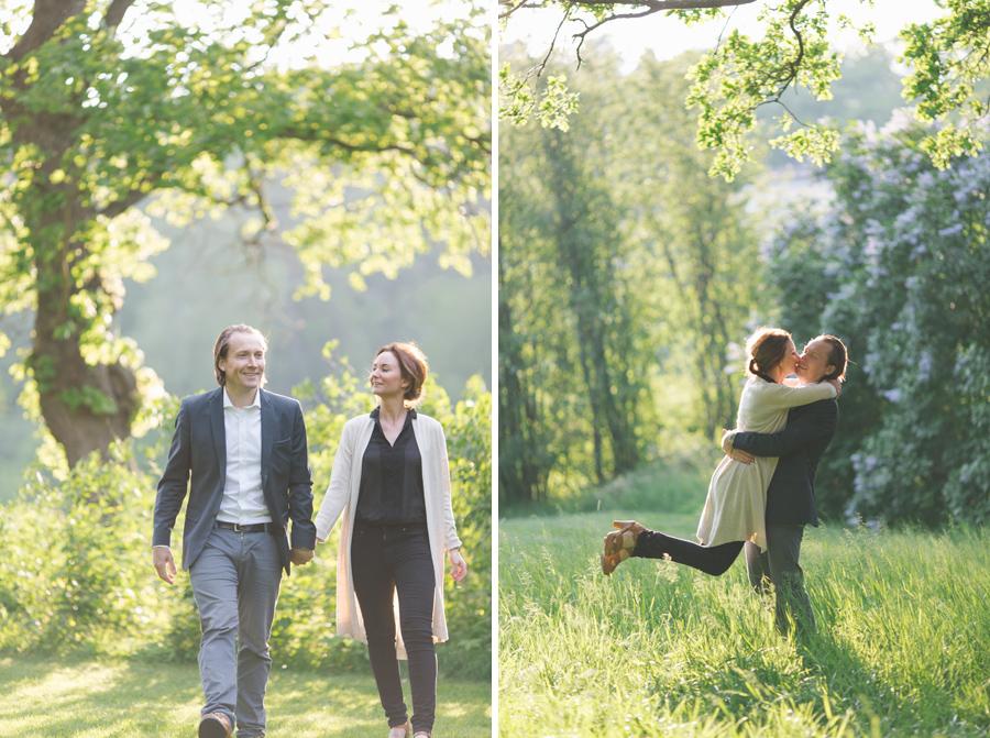 Johanna och Johan pre shoot i Hagaparken - 13