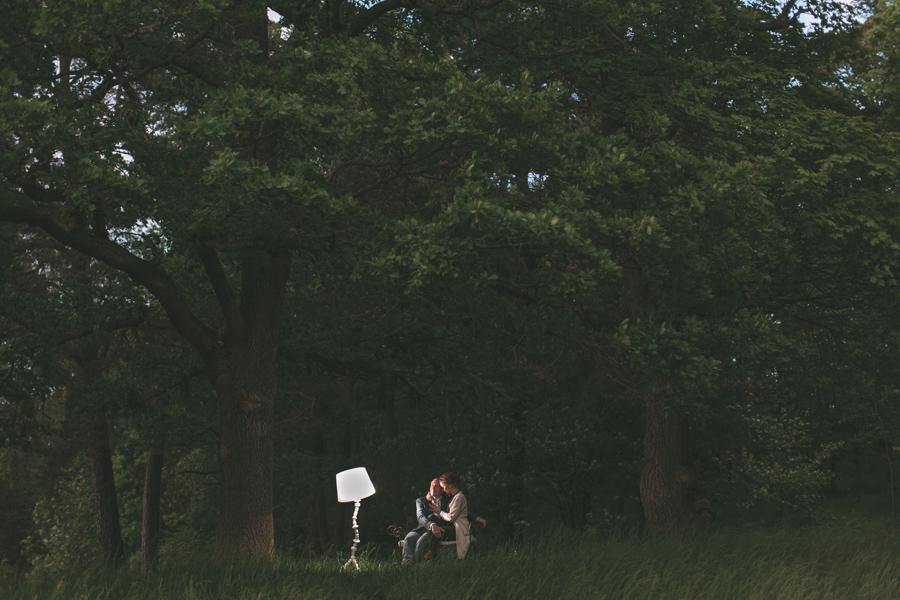 Johanna och Johan pre shoot i Hagaparken - 18