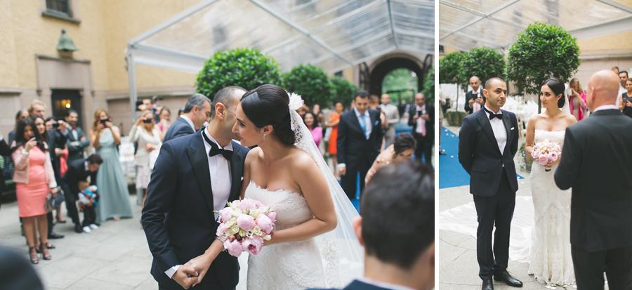 Ebru och Sirwan Bröllopsbilder från Hallwylska Palatset 28