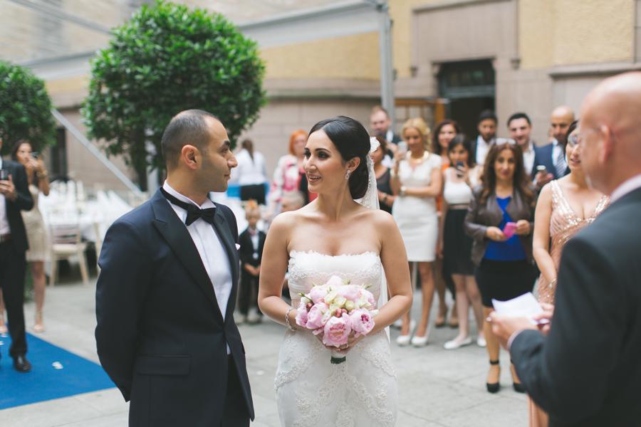 Ebru och Sirwan Bröllopsbilder från Hallwylska Palatset 29