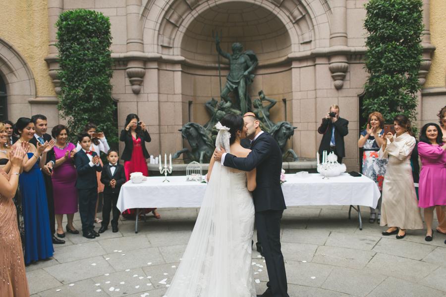 Ebru och Sirwan Bröllopsbilder från Hallwylska Palatset 32