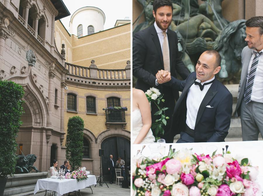 Ebru och Sirwan Bröllopsbilder från Hallwylska Palatset 50