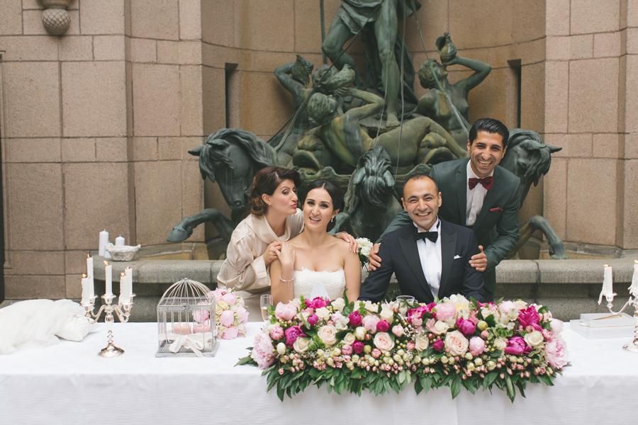Ebru och Sirwan Bröllopsbilder från Hallwylska Palatset 55