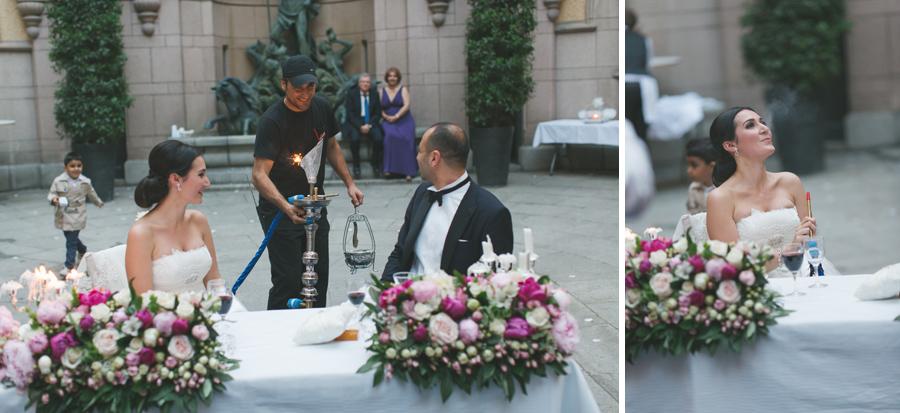 Ebru och Sirwan Bröllopsbilder från Hallwylska Palatset 65