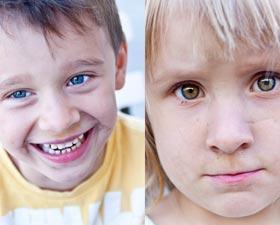 Oplanerad barnfotografering