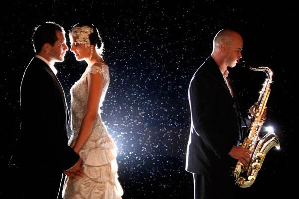 Jerry Ghionis bröllopsbild