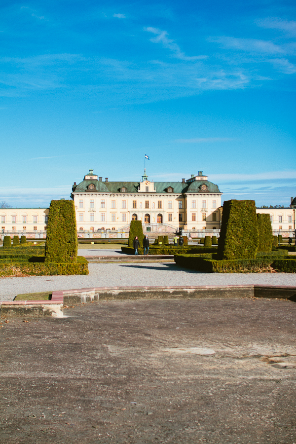 Ngra smakprov frn dagens frfotograferingar p Drottningholms slott