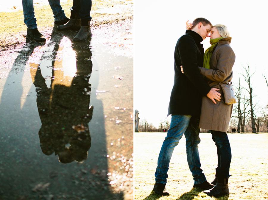 Provfotografering med Emmi och Christofer