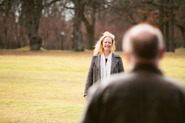 Provfotografering med Mia och Mats