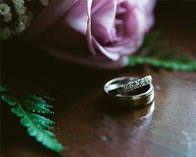 En tjuvkik från dagens bröllopsfotografering