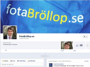 FotaBröllop.se på Facebook
