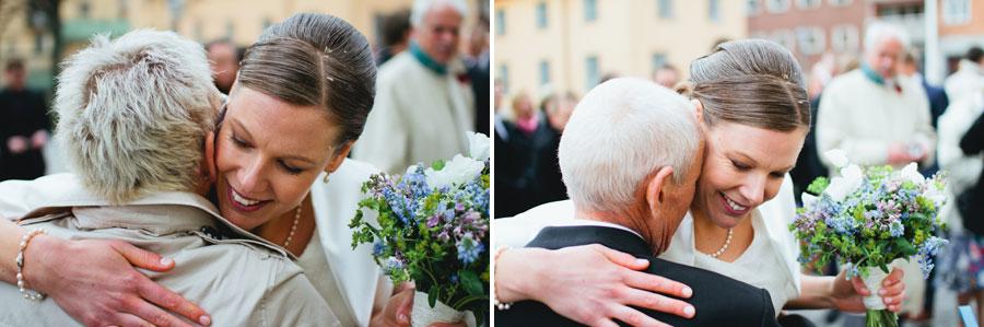 Bröllopsbild Johanna och Lars