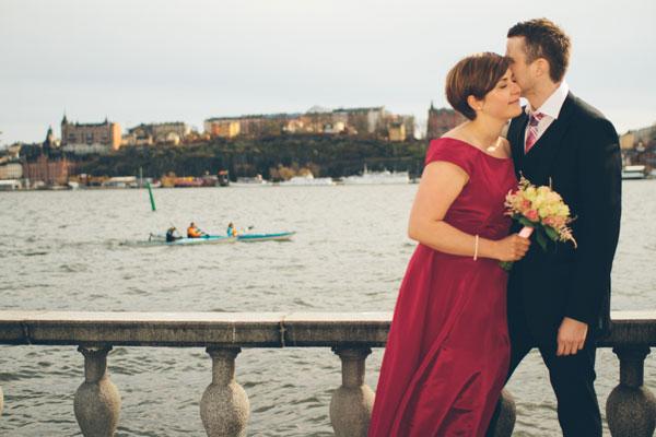 Johanna och Christoffers bröllopsbilder från Stockholms Stadshus