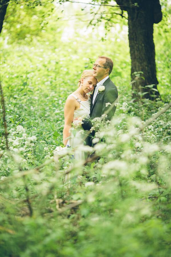 Stina och Hans bröllopsbild