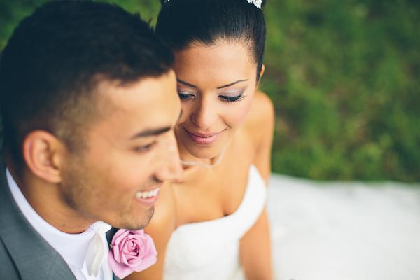 Ramona och Aså bröllopsbild