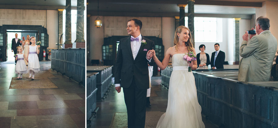 Amanda och Johan bröllop på Långholmen