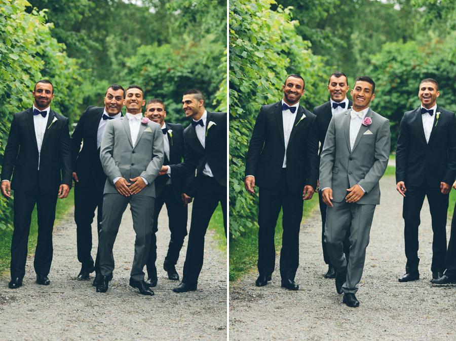 Bröllopsfototon från Ramona och Asås bröllop