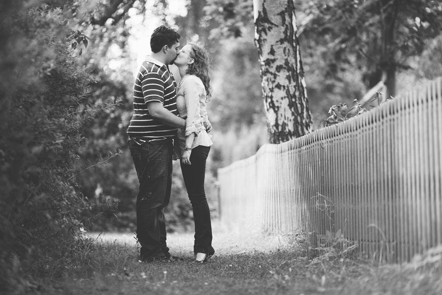 Elin och Oliver pre shoot på Långholmen
