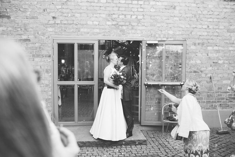 Emelie och Moe bröllopsbilder Nacka