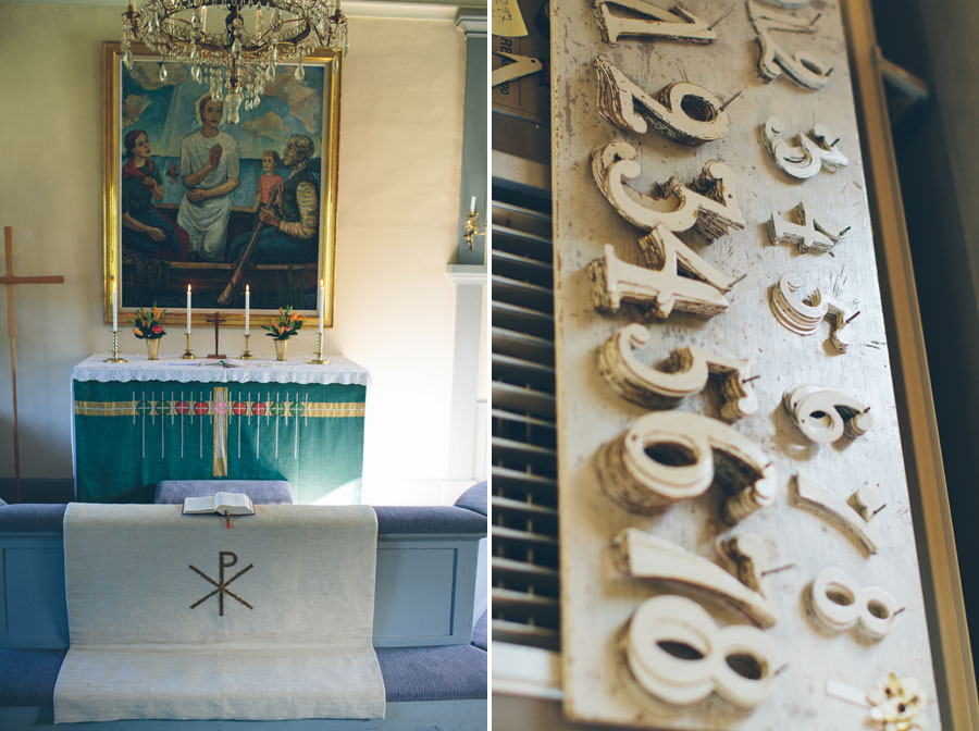 Marianne och Jonas - bröllopsbilder från Ingarö kyrka