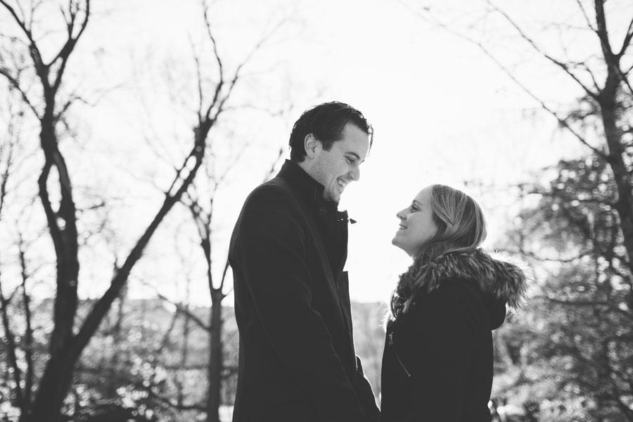 Therese och Gustav - inför bröllopsfotografering på Skansen