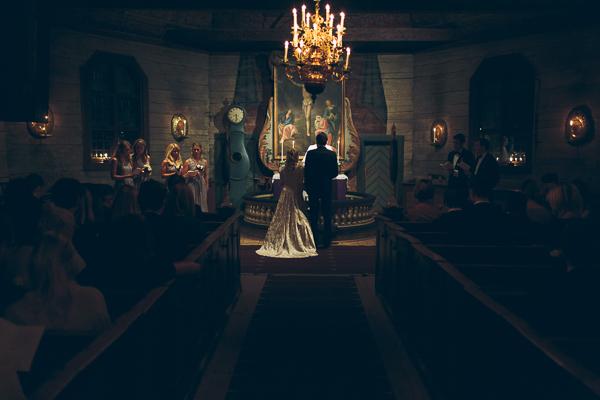 Bröllopsfotograf - Seglora kyrka