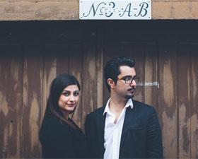 Ett par bilder från pre shoot med Niki och Pedram