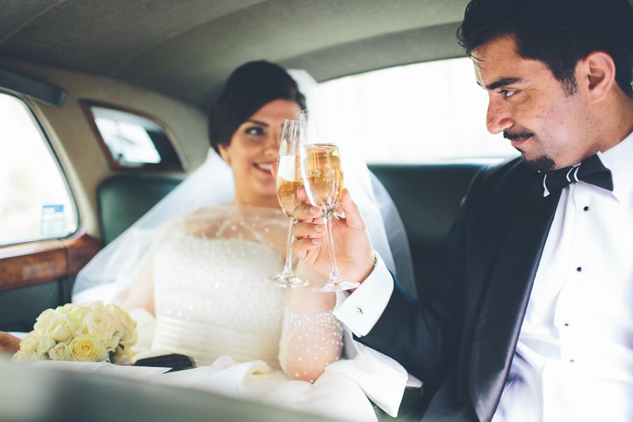 """Tjuvkika på Azar och Pedrams """"feta"""" bröllop"""