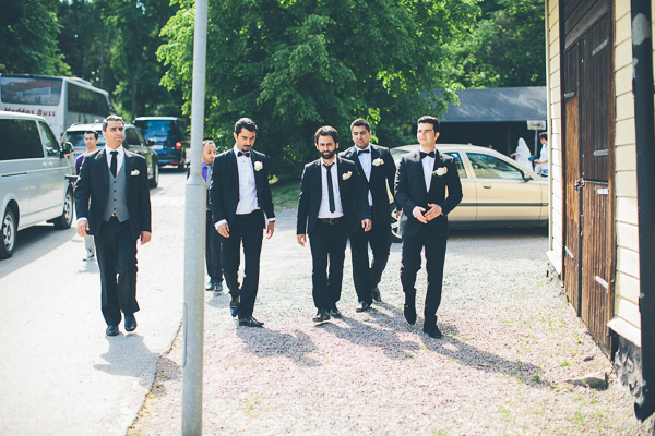 Azars och Pedrams bröllop