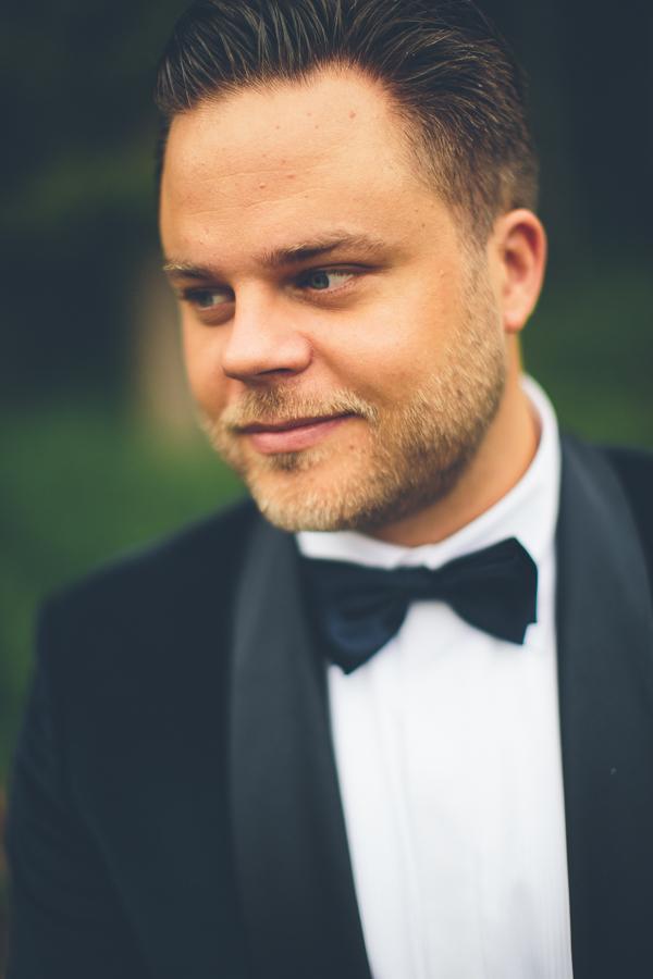 Marcus från gårdagens bröllopsfotografering