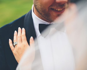 Det perfekta bröllopsvädret