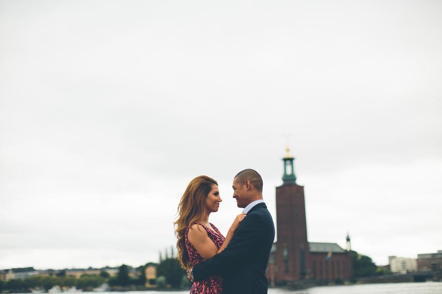 bröllopsfotograf Stockholm på Riddarholmen
