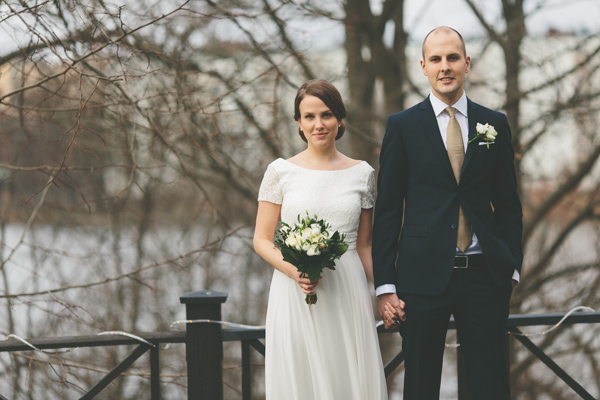Sofia och Sebastians Bröllop på Carshälls gård i Stockholm