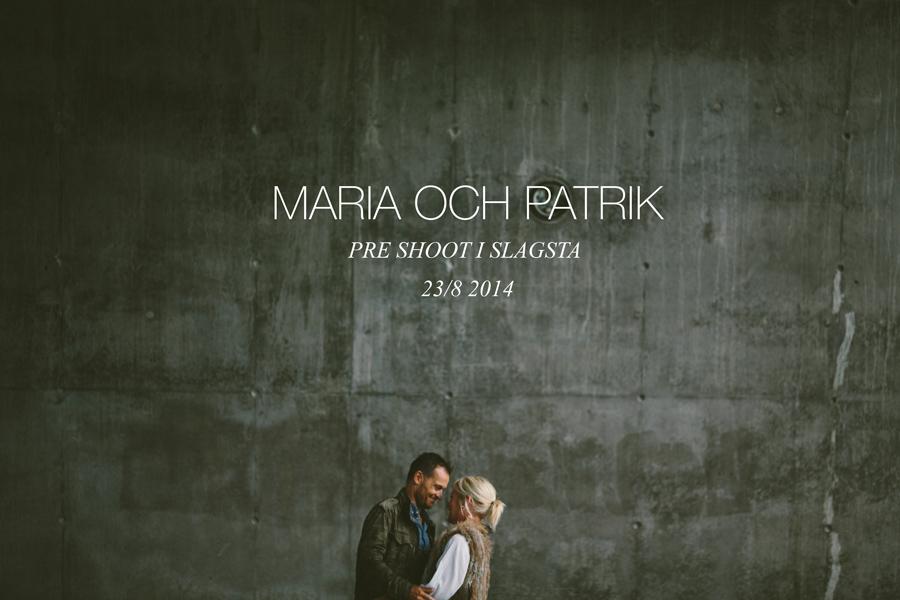 Maria och Patrik pre shoot - 01