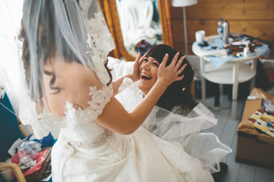 Bröllopsbilder med känslor