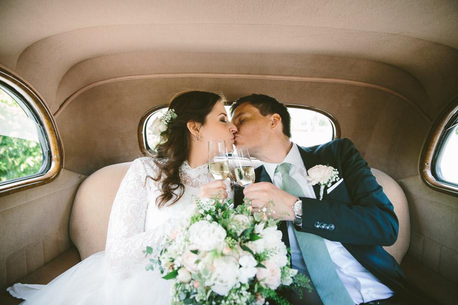 Emma och Eriks bröllop på Näsby Slott