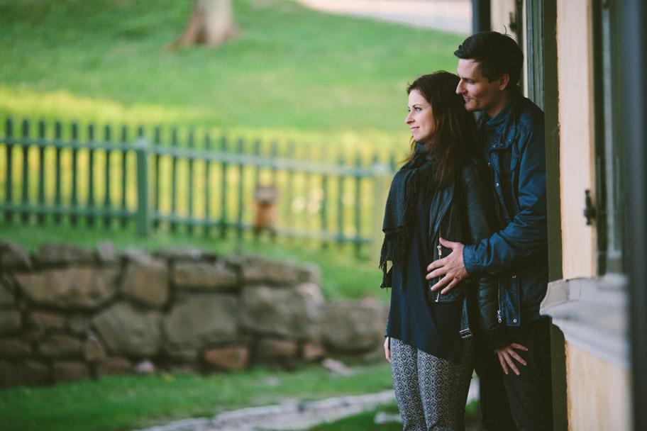 Pre shoot med Emma och Erik