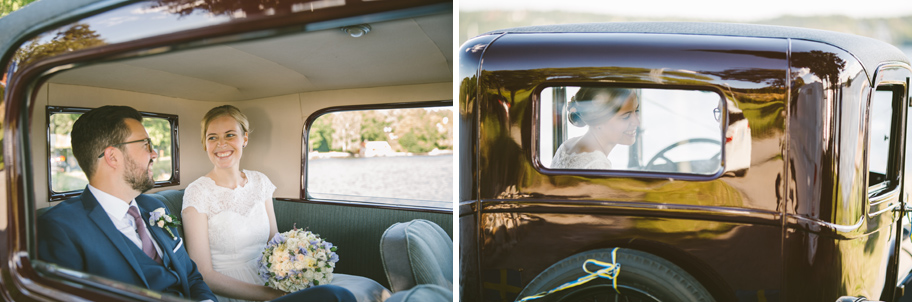bil till bröllop