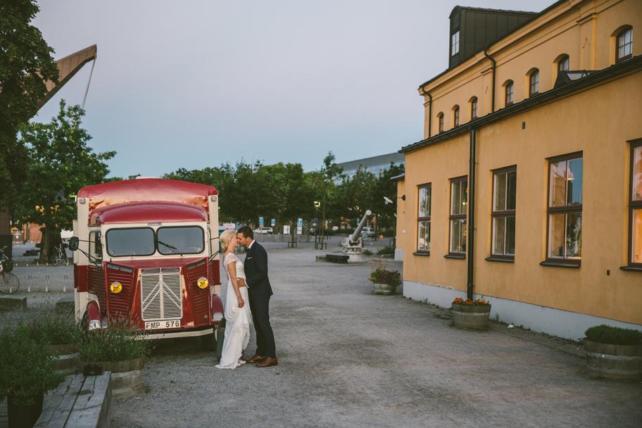 bröllop på skeppsholmen i Stockholm