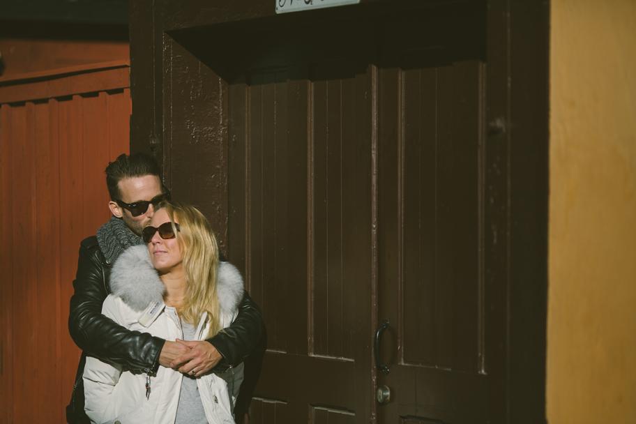 Anci och Tobbe pre shoot Stockholm