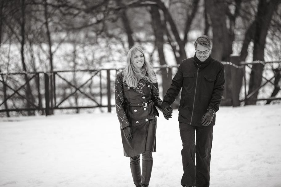 Anna och Markus på Låmgholmen