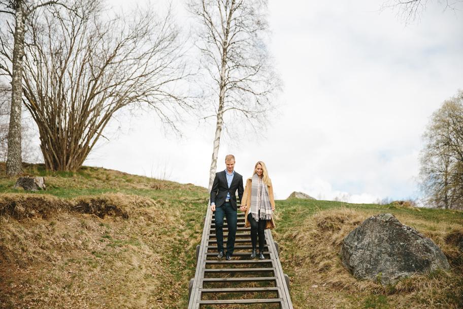 Alexandra och Robert pre shoot i Lida