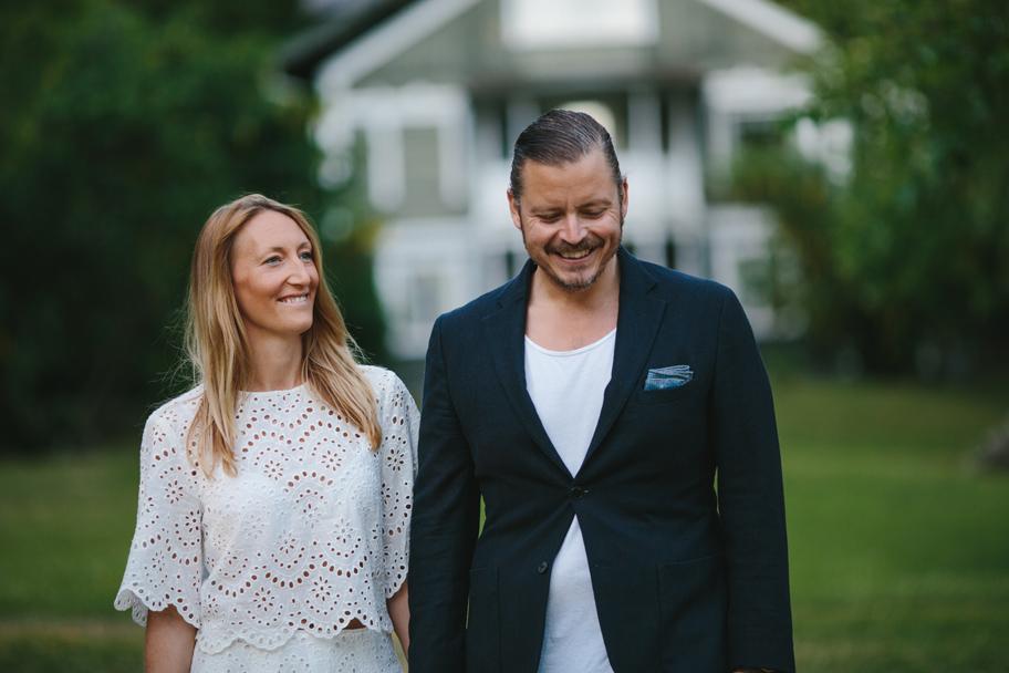 Cathrine och Gustaf pre shoot