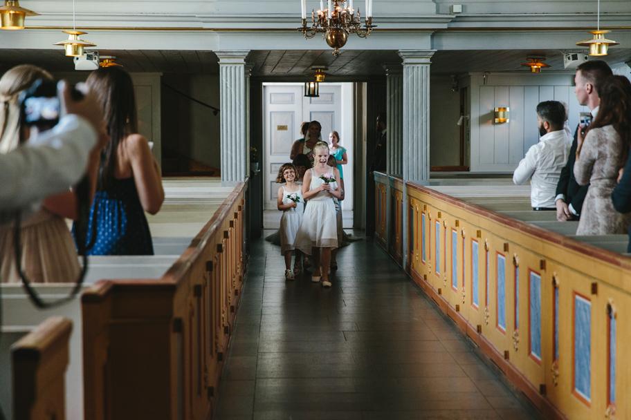 Alexandra och Robert bröllop