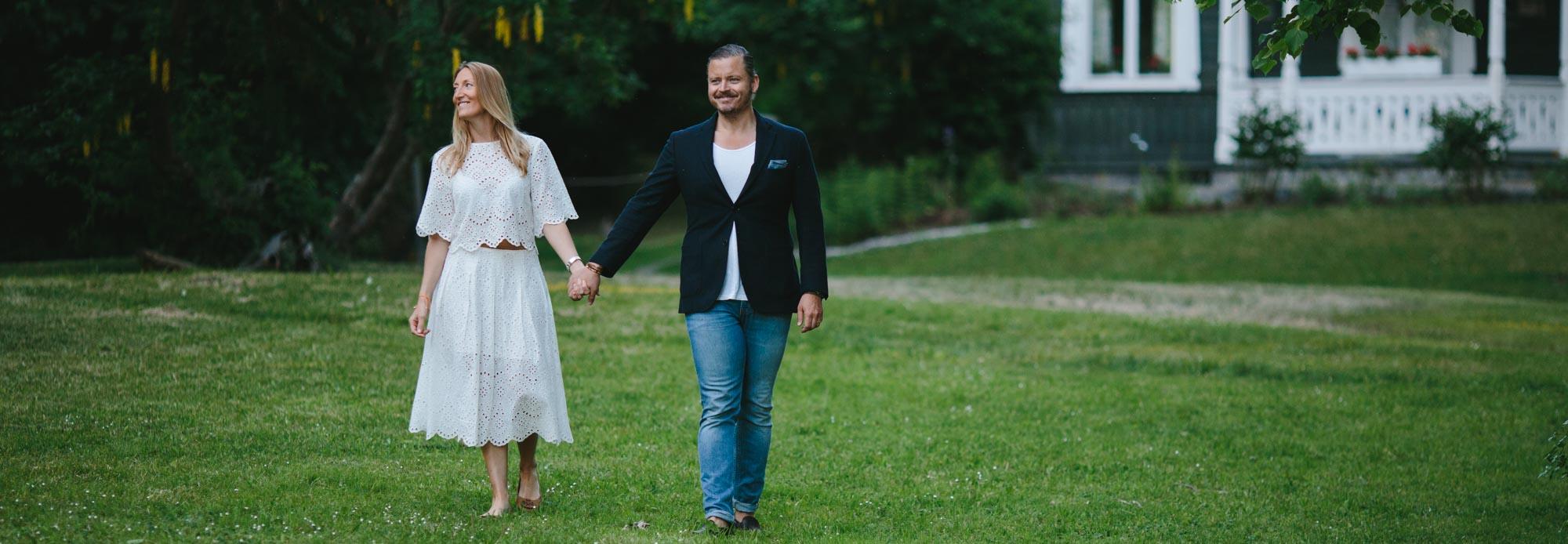 Cathrine och Gustaf – Pre shoot