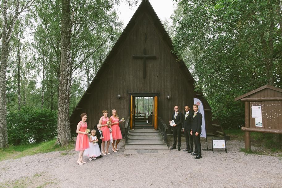 Bröllop Lida kyrka