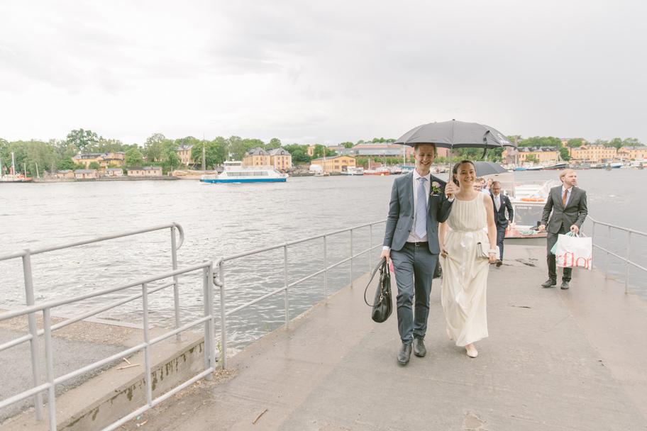 Bröllop Skeppsholmen